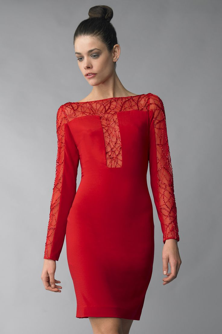 26 best images about best long sleeve cocktail dresses for Cocktail dress with sleeves for wedding
