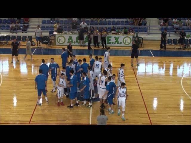 EOK | Εθνική Νεών Ανδρών : Τα Highlights του φιλικού αγώνα  U20 Εθνική Νεών Ανδρών - U18Εθνική Νεών Ανδρών 63-41, Φιλικός Αγώνας, Χαλκίδα, (12.07.2016)