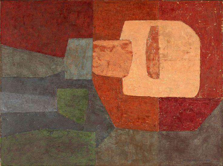 George Morrison - Painting #10  (1955)