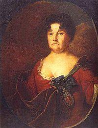 Княгиня Анастасия Петровна Голицына, урождённая Прозоровская (1665 — 1729)