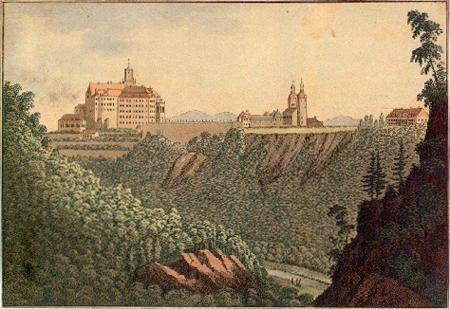 Schloß Fürstenstein Schlesien