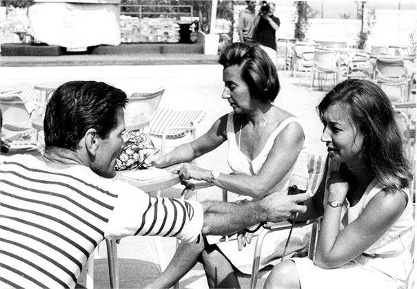 Oriana Fallaci con P.P.Pasolini e C.Cederna
