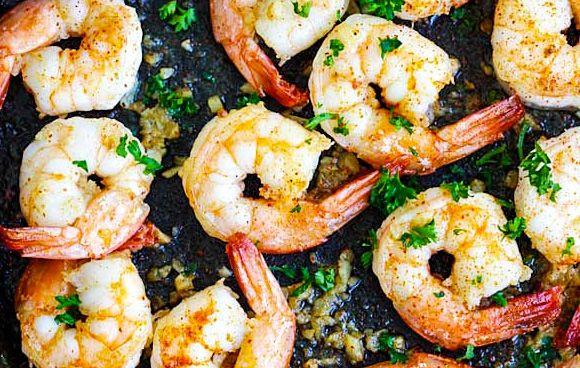 Garlic Shrimp - Blackstone Products