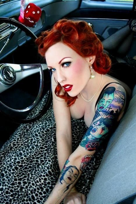 4341 best images about Modern Pin up's 40's to present ...