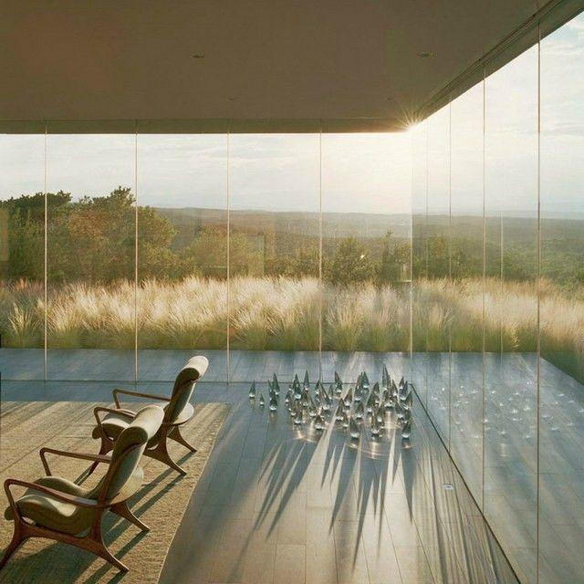 Santa Fe - Living Room Glass Corner, Ohlhausen DuBois Architects