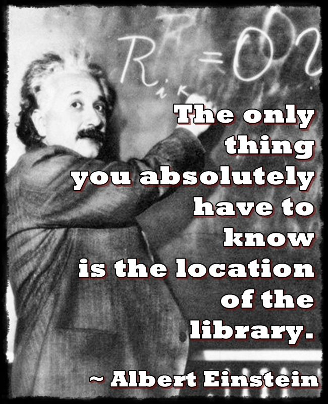 So true story... My grandparents went to visit my dad at college for the first time, and asked him where the library was. He had absolutely no idea, and they got super pissed (because he obviously was not studying). So just before I started my first semester at school, my aunt drove me an hour to the campus to help me find the library so that I would not be caught in the same trap.