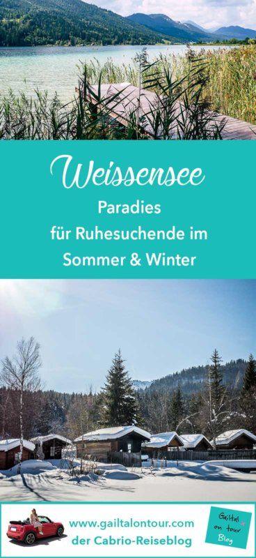 #Urlaub am #Weissensee in #Kärnten. Tipps für den #Sommer und #Winter für Ruhesuchende und Genießer