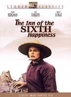 Inn of the 6th Happiness based on the true story of Gladys Aylward.