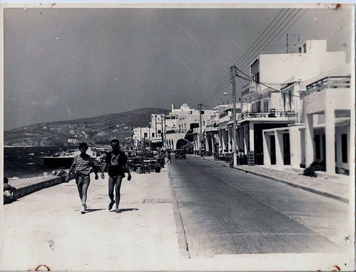 Old Paros by the beach! #Beach #Summer #Greece #Vintage #Paros #parikia