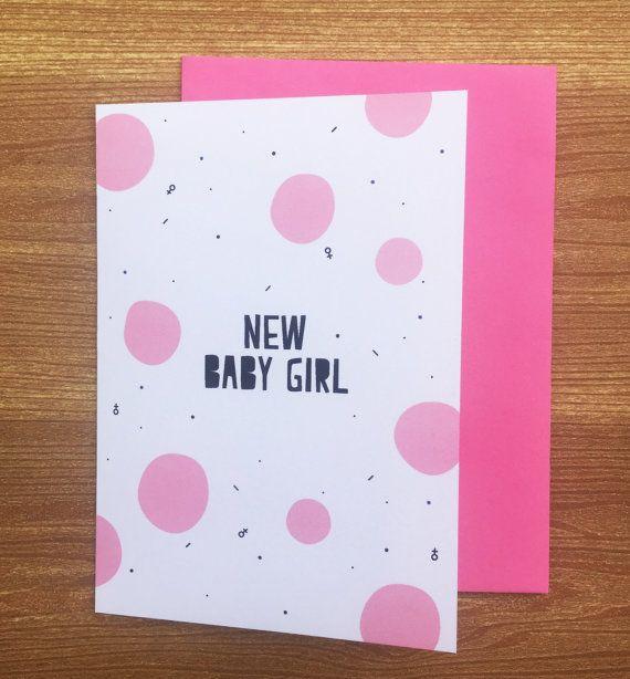 New Baby Girl by HeidiLDesign on Etsy