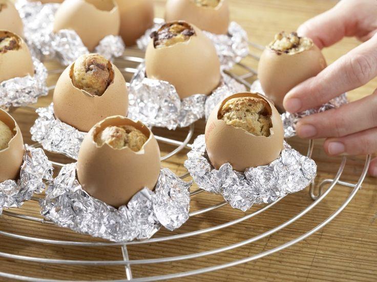 Пасхальные кексы в виде яиц - 25