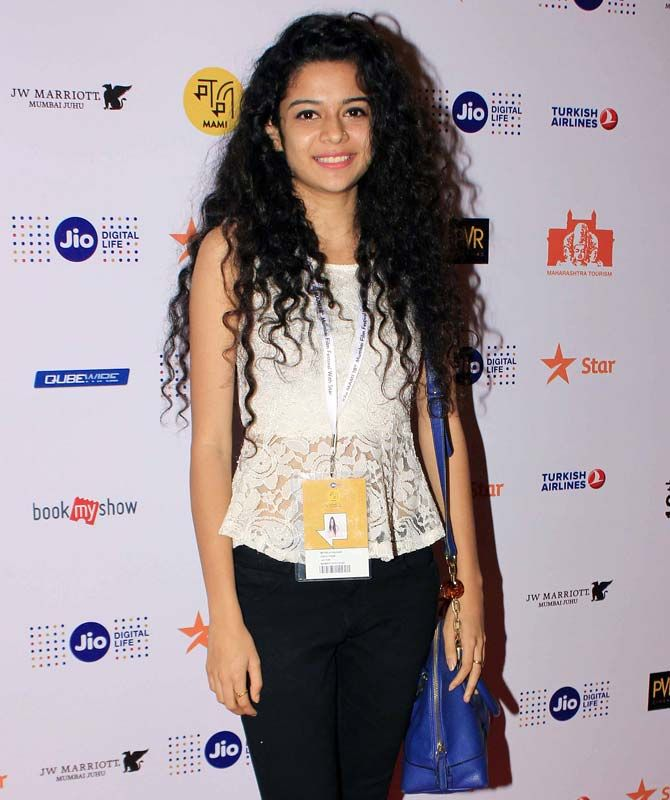 Mithila Palkar watching 'Ventilator' at MAMI. #Bollywood #Fashion #Style #Beauty #Hot #Sexy