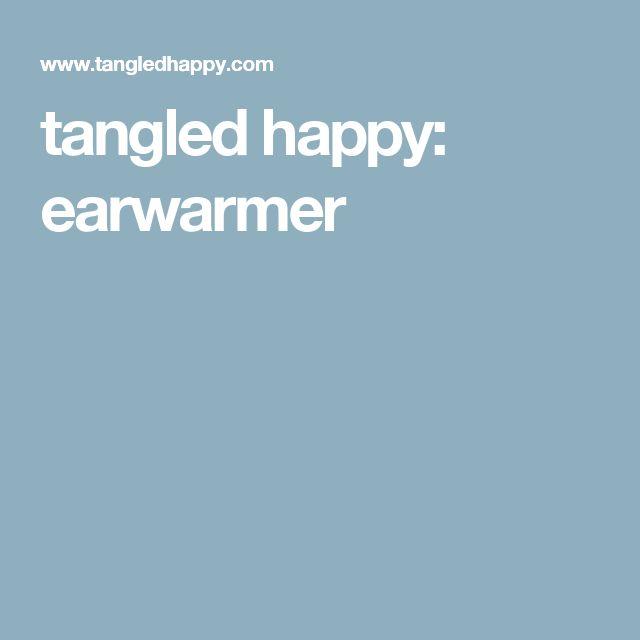 tangled happy: earwarmer