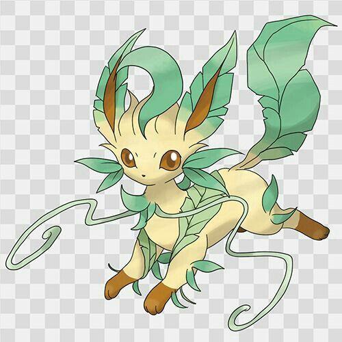 Leafeon mega evolution pokemon pok mon pinterest animaux manga evoli et manga - Pokemon famille pikachu ...