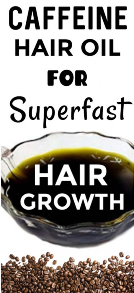 My grandma gave this one bottle of caffeine hair oil and it completely changed my hair growth…
