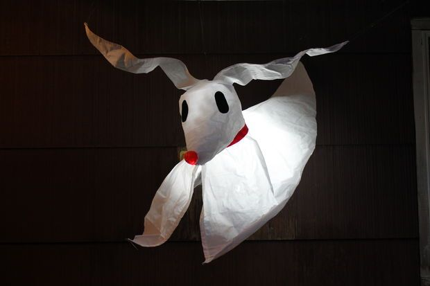 Make you own Zero from the Nightmare Before Christmas from this Instructable!