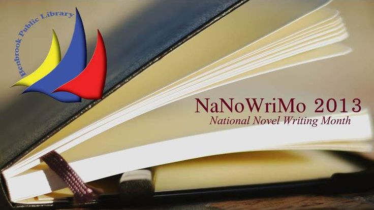 Write your novel this November at the Benbrook Library!