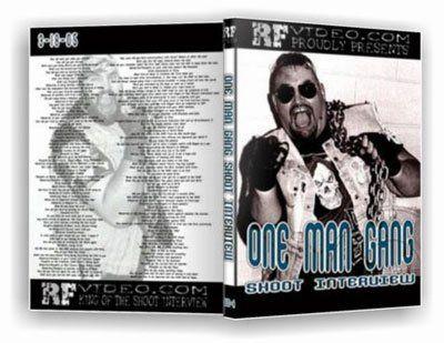 One Man Gang Shoot Interview DVD by RF Video