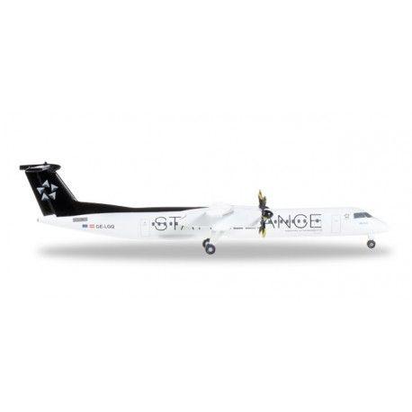 Bombardier Q400 Austrian Airlines a escala 1:500, mas info: http://www.maqualas.cl/es/home/434-bombardier-q400-austrian-airlines-4013150528788.html