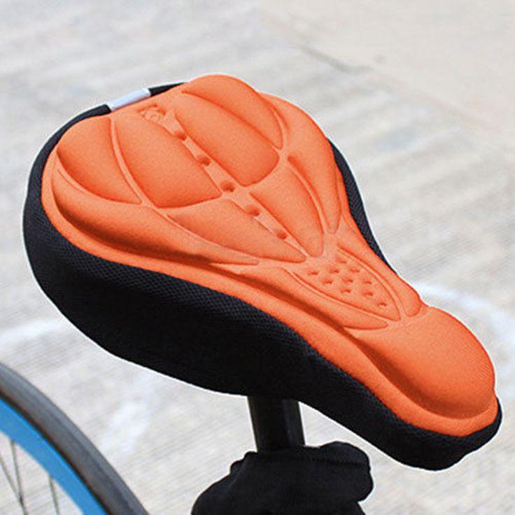 Ciclismo ao ar livre 3D bicicleta Silicone gel almofada assento cobrir de sela suave