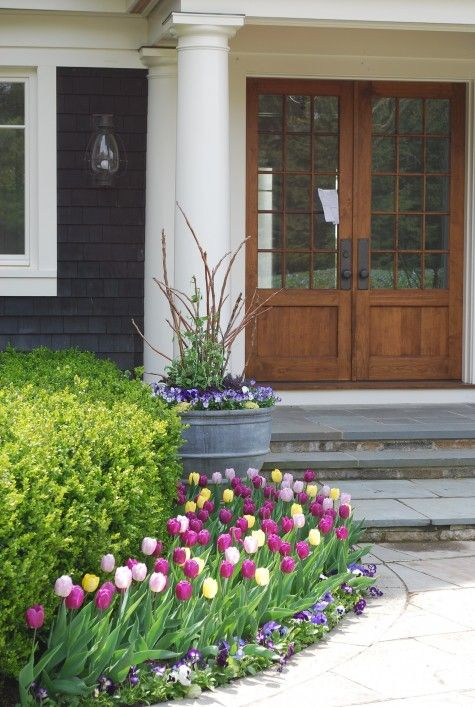 Flower Garden Ideas In Front Of House best 10+ front yard flowers ideas on pinterest | diy landscaping