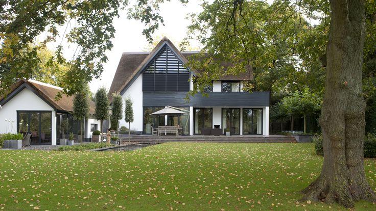 modern nieuwbouw landhuis - 't Gooi