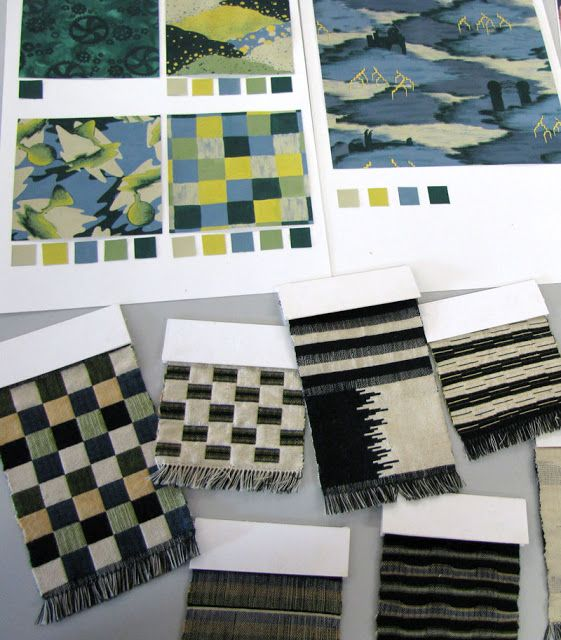 Sophie Lew, RMIT University Textile Design student. Bringing Frankenstein into the world of weave, hand woven swatches for kids apparel