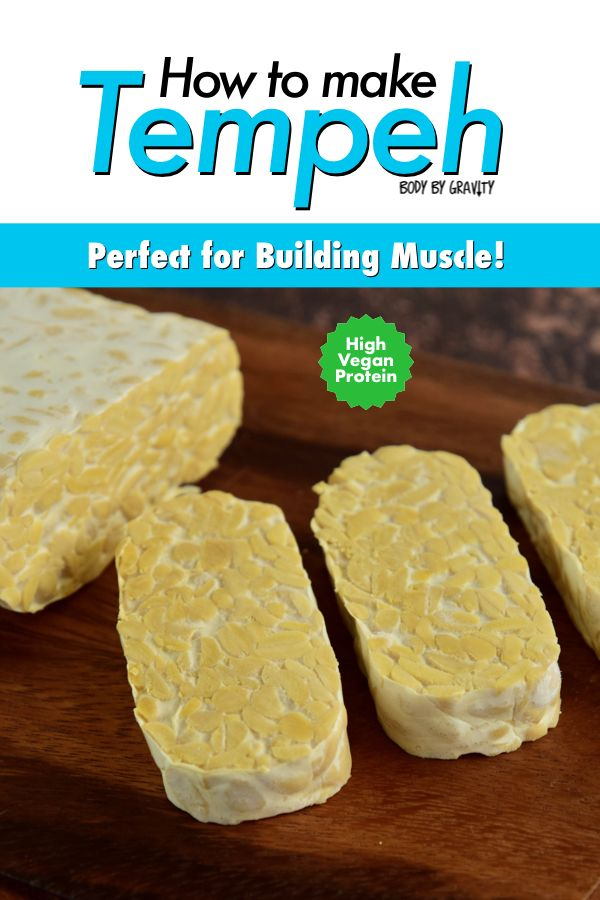 How To Make Tempeh High Vegan Protein Bodybuilding Meal