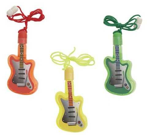 Guitar Bubbles - pack of 4