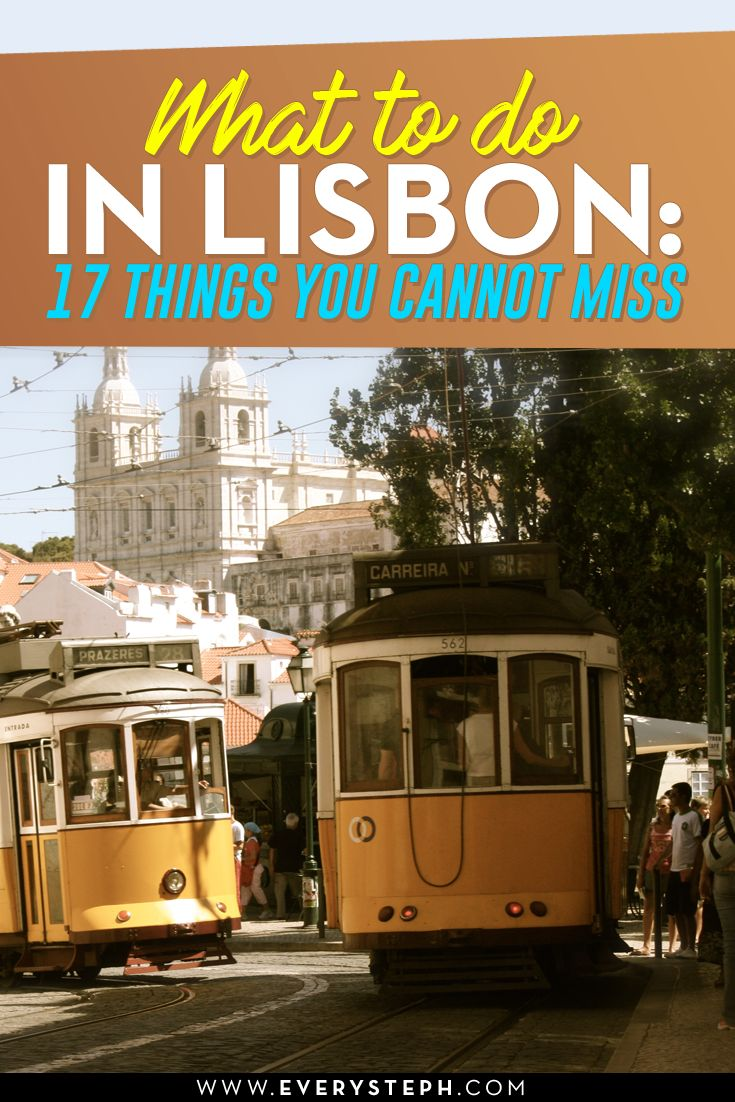 Where to go in Lisbon? Good question. Lisbon is a great destination, and incredible when traveling on a budget! From the colorful Lisbon tiles to the famous tram, there is lots to do, without forgetting the yummi Lisbon food! This is a Lisbon travel guide + tips for unusual things to do. Discover a Lisbon off the beaten path that you need to include in your Portuguese itinerary! - What To Do in Lisbon: 17 Things To Do in Lisbon Off the Beaten Path [ Portugal, Europe ] | EverySteph