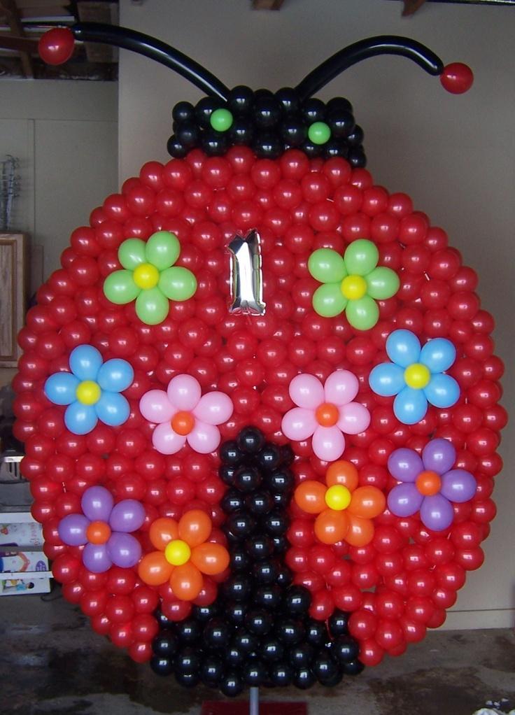 LadyBug - balloons
