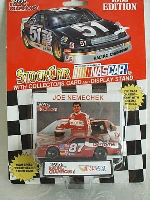 1993 Racing Champions #87 Joe Nemechek Dentyne Chevy Lumina 1:64 1993 Edition #RacingChampions #Chevrolet