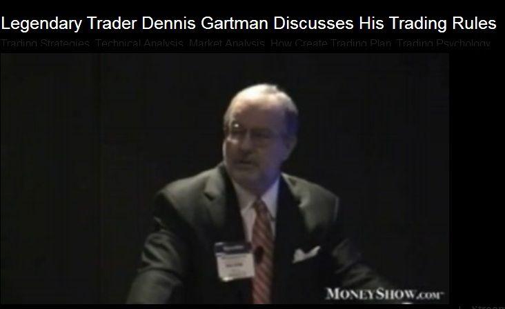 Gartman's Rule No.1 (Video)