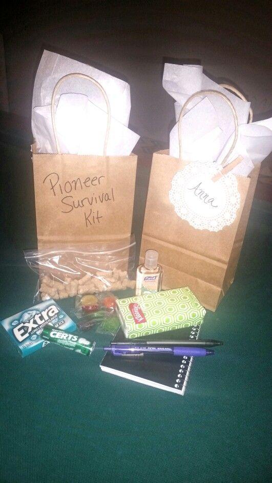 JW Pioneer survival kit. Gift bag.