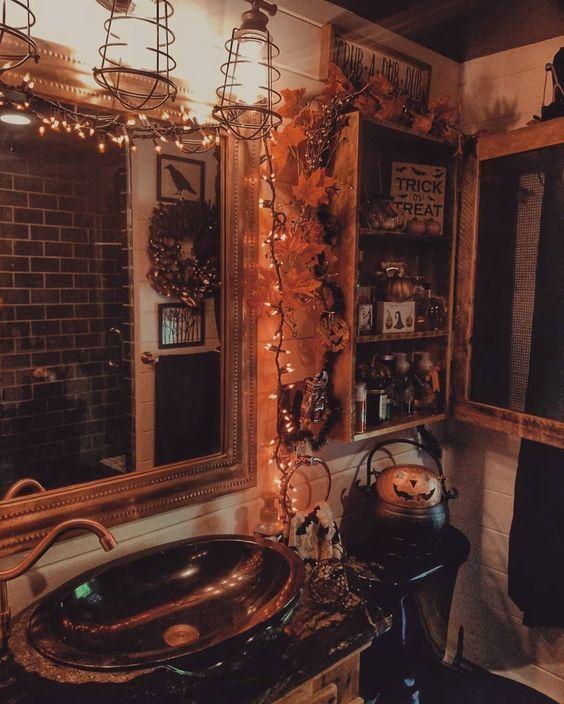 Über 90 DIY-Deko-Ideen für Halloween-Innenräume, mit denen Sie gruselige Stimmung in Ihrem Zuhause begrüßen können