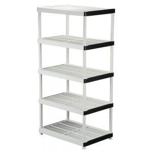 Plastic Shelving Units On Wheels