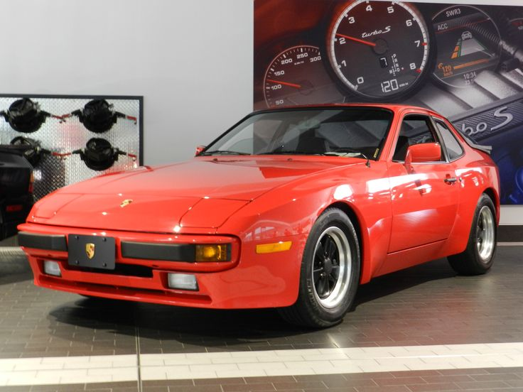 Porsche 944 at the 40th anniversary water cooled event at the Porsche dealership in Broward County, Florida.
