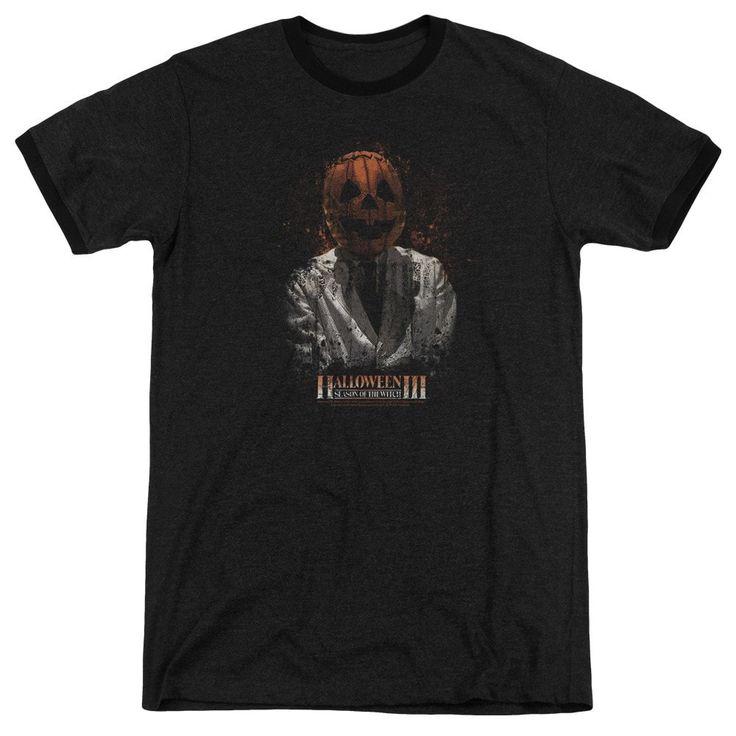 Halloween Iii - H3 Scientist Adult Ringer T- Shirt