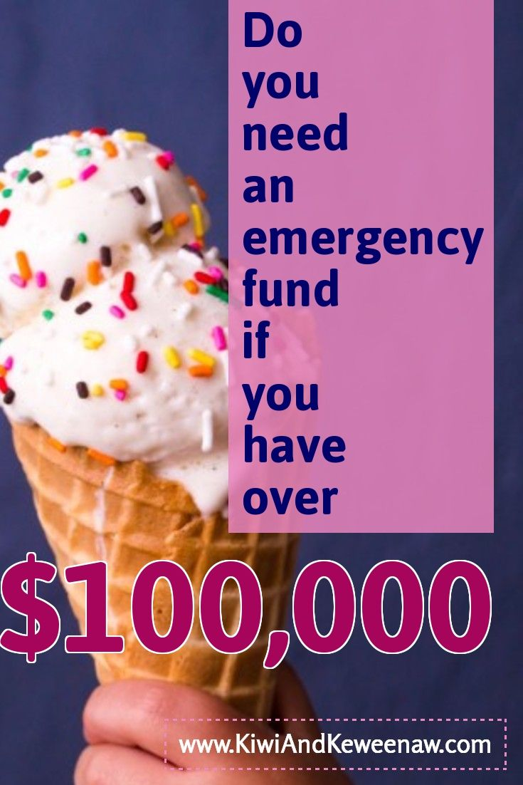 Can my savings rate make it so I don't need an emergency fund? If you are on the path to financial independence early retirement (FIRE) you still need a cash emergency savings Kiwi And Keweenaw KiwiAndKeweenaw.com I thought I had enough money saved, but I need some cash too!