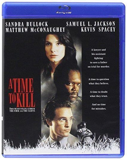 A Time To Kill Matthew McConaughey, Sandra Bullock, Samuel L. Jackson, Kevin Spacey, Oliver Platt, Donald Sutherland, Ashley Judd, Charles S. Dutton, Kiefer Sutherland, Brenda Fricker
