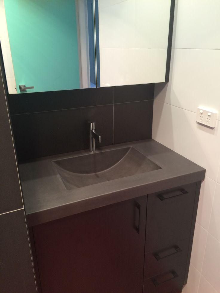 40 best Polished Concrete Bathroom Vanity Tops images on ...