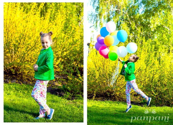Panpani добавляет в жизнь Вашего ребенка больше ярких красок! На модели куртка зеленого цвета и брюки из коттона в цветочек   #panpani #панпани #детскаямода #пан #пани #модница #модник #мода #детскаякуртка #брюки #рубашка #детскийстиль www.panpani.com.ua