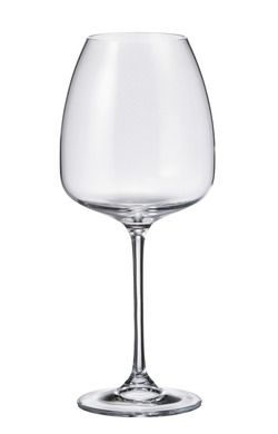 The Alizee wine glass features a slightly squared bowl combined with an long elegant stem, resulting in a very versatile wine glass that suits almost every occasion.   Set of 6 glasses Available in white or red sizes White Wine glass holds 440 ml (approx 14.9 ounces) Red Wine glass holds 610 ml (approx. 20.6 ounces) Lead free crystal, enriched with titanium for added strength and scratch resistance Dishwasher safe