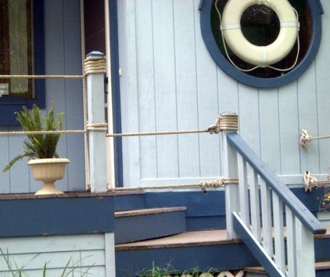 Nautical Garden U0026 Landscaping Ideas From A Home That Goes All The Way    Completely Coastal
