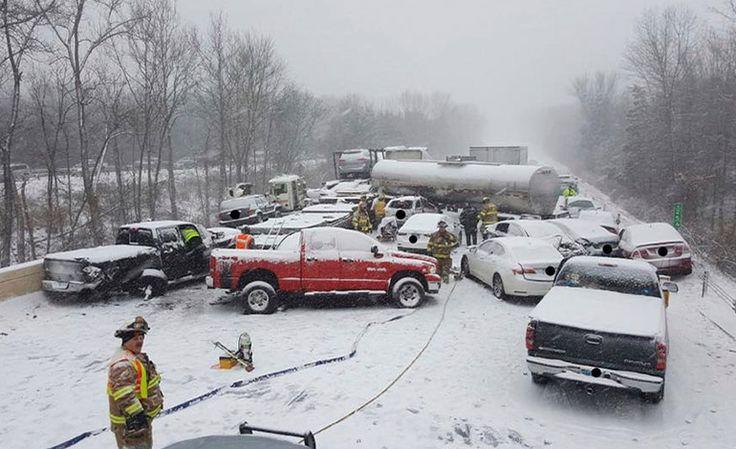 Tormenta invernal causa una muerte en EE UU - http://www.notiexpresscolor.com/2017/01/08/tormenta-invernal-causa-una-muerte-en-ee-uu/