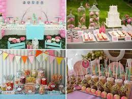 Resultado de imagen para decoracion mesa de dulces sencilla