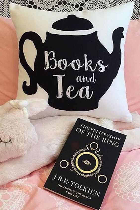 17 accessories for tea-drinking bookworms, including this must-have pillow.