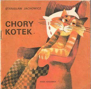 Chory kotek: Poland. A sick cat eats too much