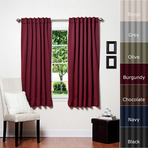 17 Best images about Solid Thermal Insulated Blackout curtain on ...