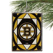 Boston Bruins Stained Glass Ornament